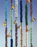 Chime Brass On Cord 12 Bells W/Beads 72""
