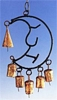 Iron Moon Chime w/ Four Bells-8